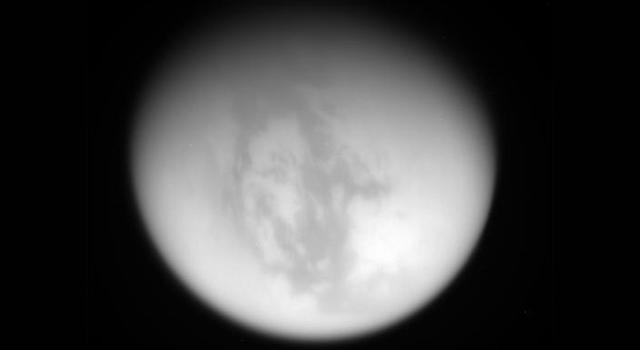 Raw image of Titan