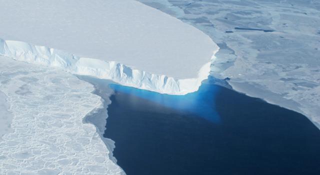 Thwaites Glacier. Image credit: NASA