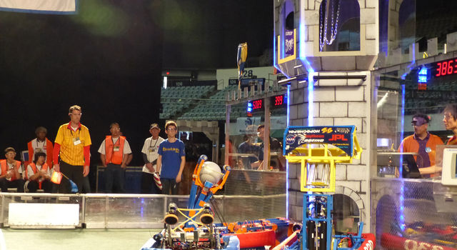 Sixty-six teams competed at the Los Angeles Regional FIRST Robotics Competition on March 11 and 12.