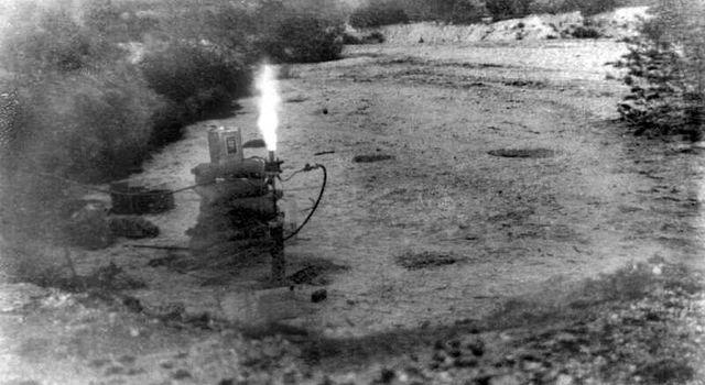 rocket motor firing