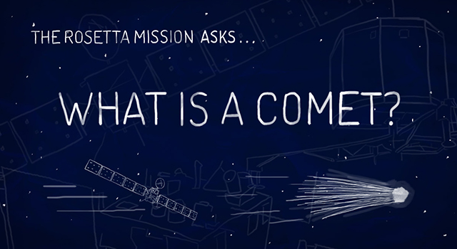 The Rosetta Mission Asks: What is a Comet?
