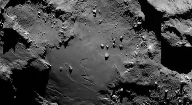 Rosetta's Target Up Close