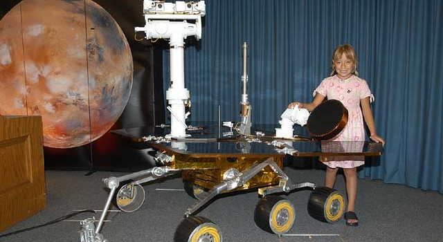Girl with Dreams Names Mars Rovers ''Spirit'' and ''Opportunity''
