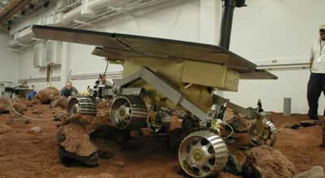 Rover in lab