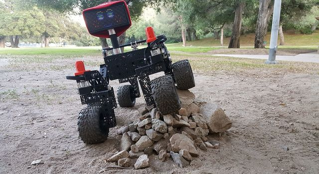 JPL-built Open Source Rover