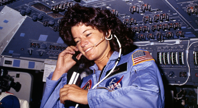 Sally Ride, America's first astronaut in space