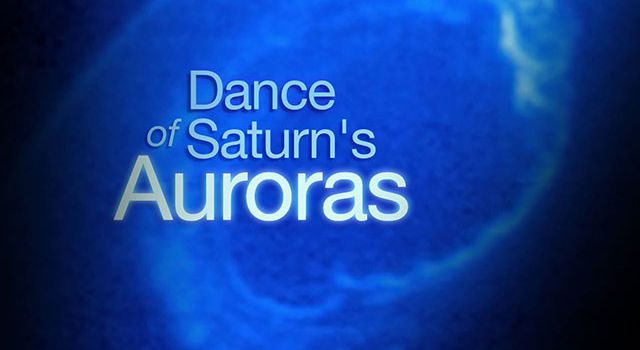 Dance of Saturn's Auroras