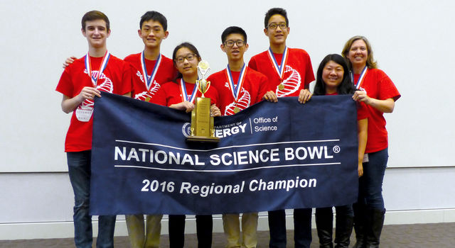 A team from Troy High School from Fullerton, California.
