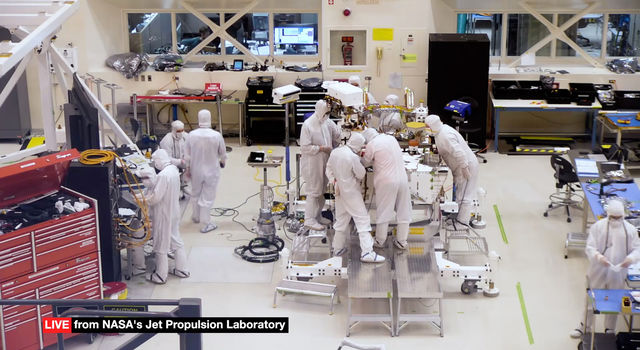 mars rover cleaning event - photo #25
