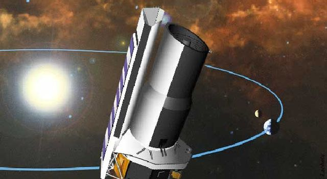 Artist's concept of Space Infrared Telesope Facility