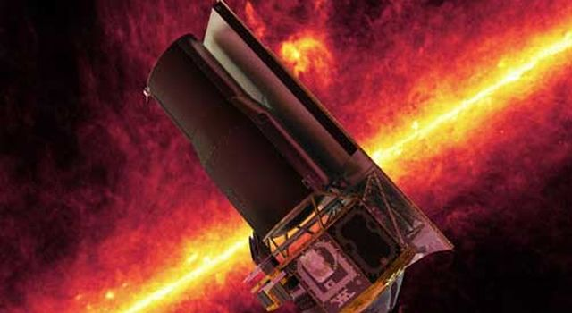 Artist's concept of Spitzer Space Telescope