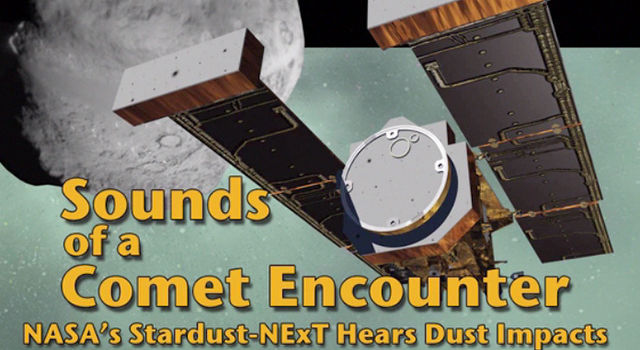 Sounds of a Comet Encounter