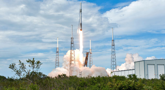 SpaceX Falcon 9 rocket
