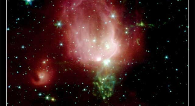 nebula that resembles a rosebud