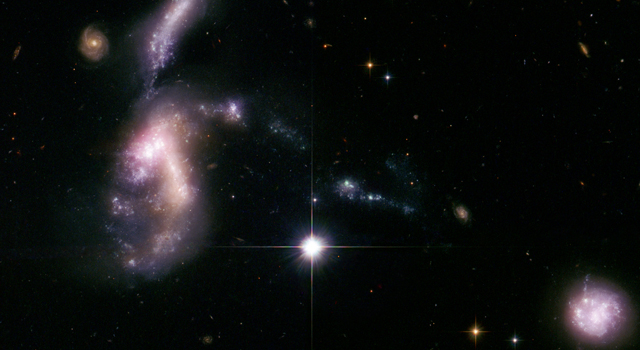 Jurassic Space: Telescopes Probe Ancient Galaxies Near Us