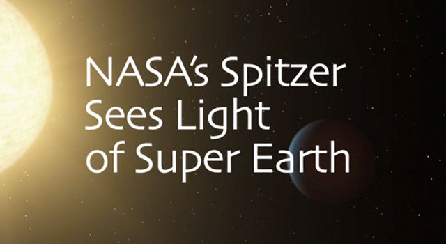 Super Earth Reveals Itself to Spitzer
