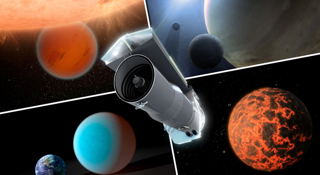 Spitzer Trains Its Eyes on Exoplanets