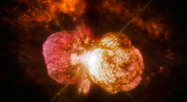 WFPC2 image of the variable star Eta Carinae