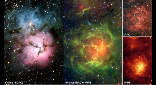 Images of the Trifid Nebula