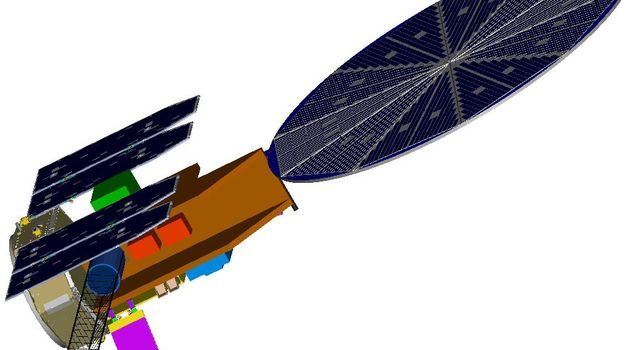 Artist concept of spacecraft