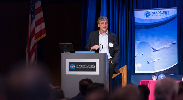 Tom Cwik, program manager of JPL's Office of Space Technology
