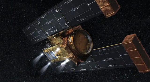 Artist's concept of Stardust spacecraft