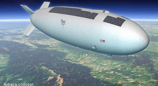Artist's concept for a high-altitude