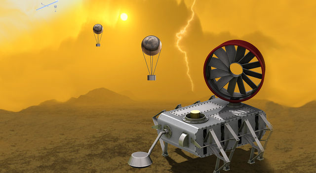 AREE takes the electronics out of exploring Venus