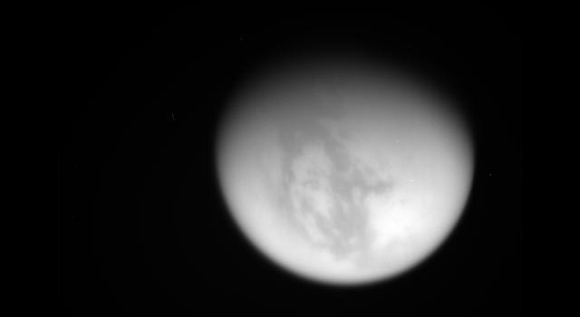 Raw image of Titan