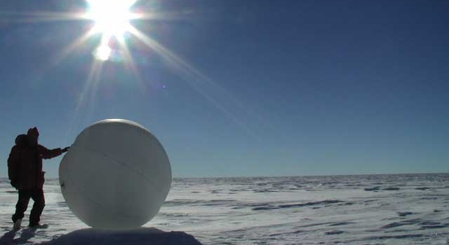 tumbleweed rover in Antarctica