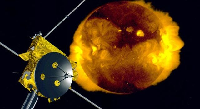 Ulysses Forecasts Weather at Sun's North Pole
