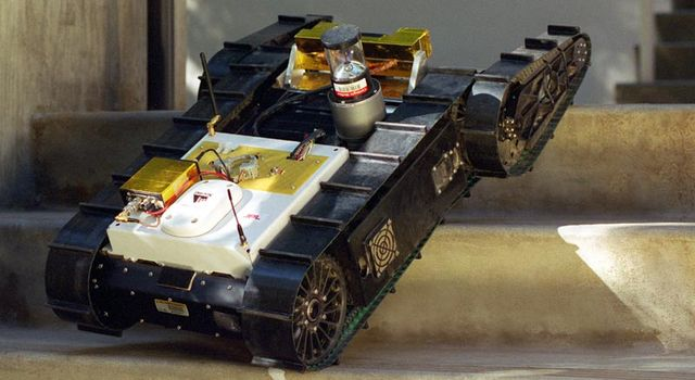 Urbie, the Urban Robot
