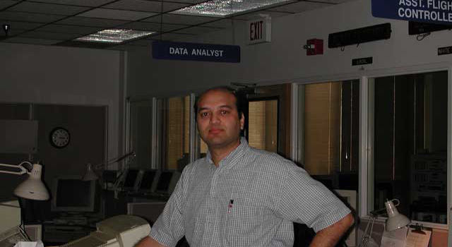 Parag Vaze, Deputy Manager Earth Sciences Mission Operations