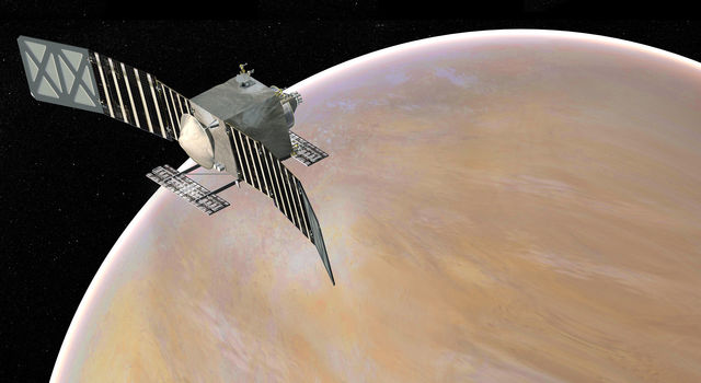 Artist's concept of the Venus Emissivity