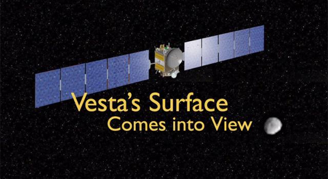 NASA's Dawn spacecraft spies the asteroid Vesta