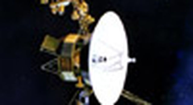 artist concept of Voyager spacecraft