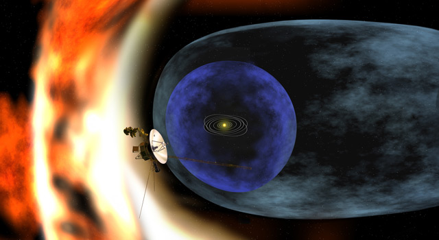 Artist's concept of Voyager 2