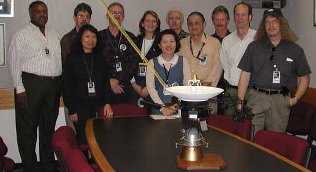 Voyager team stands behind its spacecraft model