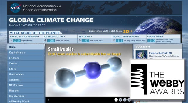 Global Climate Change site
