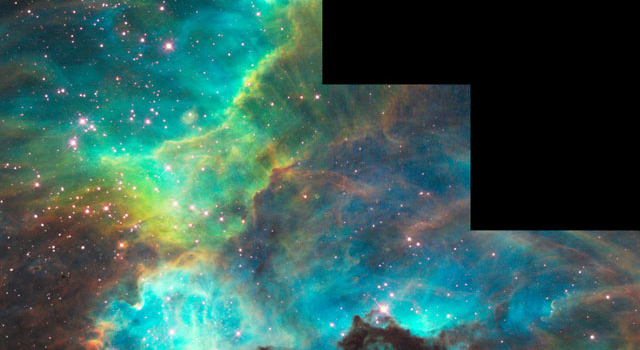 nebula 170,000 light-years away