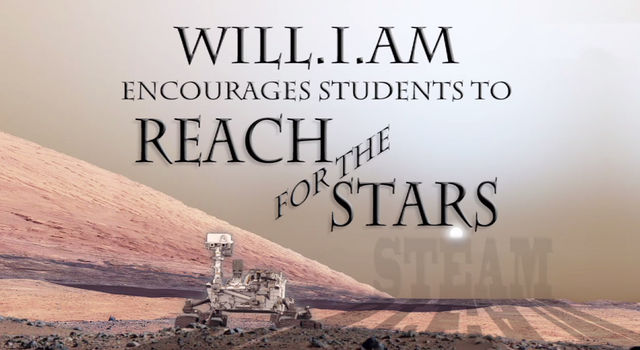 Students 'Reach for the Stars' with will.i.am video
