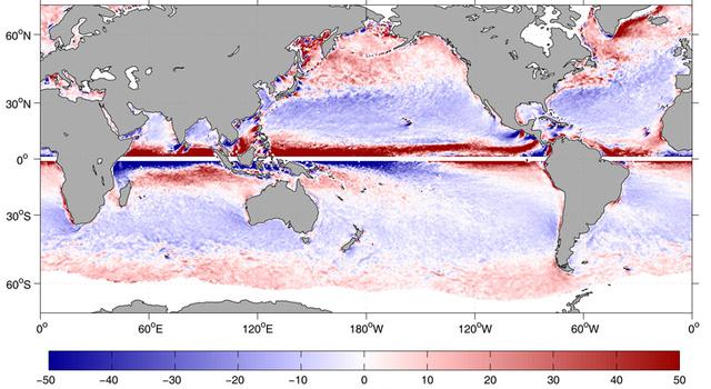 global map of ocean water movement