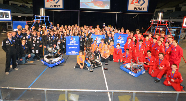 FIRST Robotics Winners