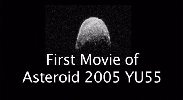 First Movie of Asteroid 2005 YU55