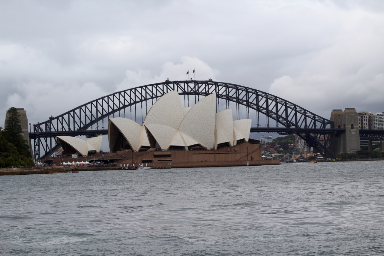 The Sydney Opera House at Circular Quay