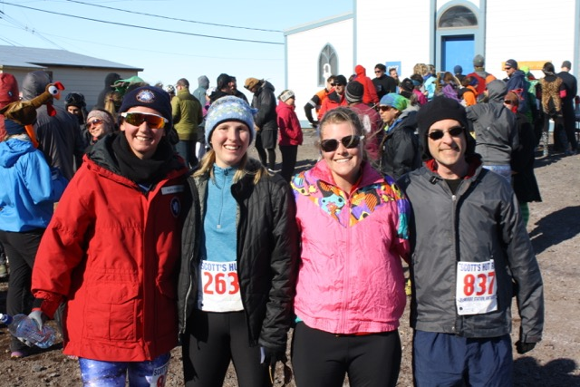 The STO-2 Turkey Trot 5k Team