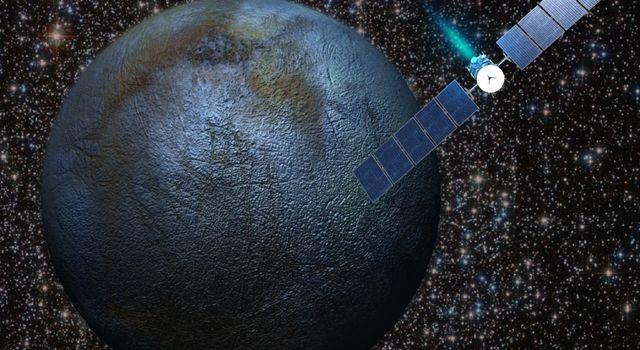 Artist's concept of the Dawn spacecraft