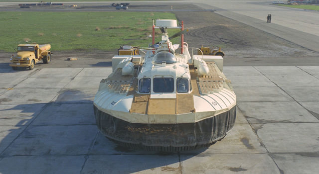 NASA hovercraft vehicle