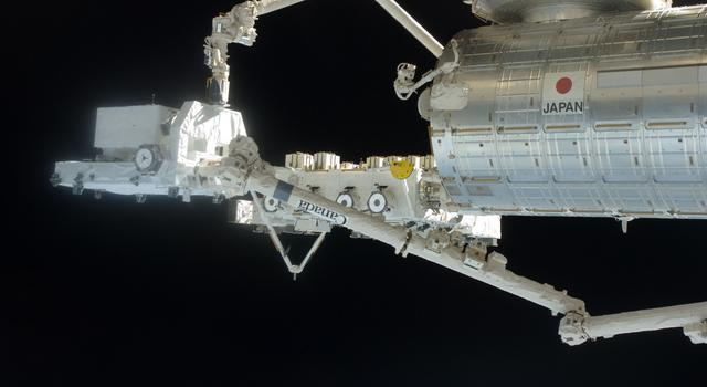 Robotic Arms on the International Space Station