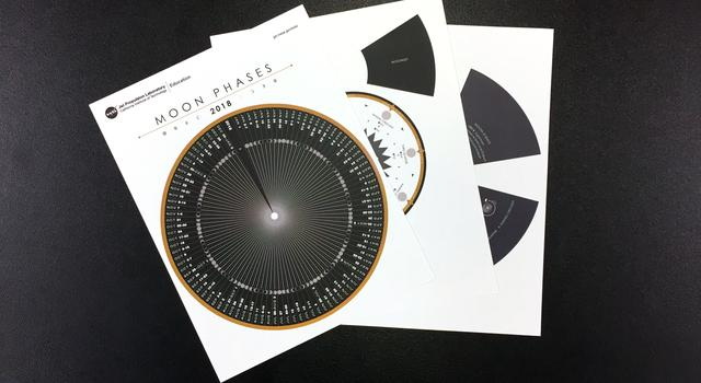 Moon Phases Calendar and Calculator Step 1 - NASA/JPL Edu